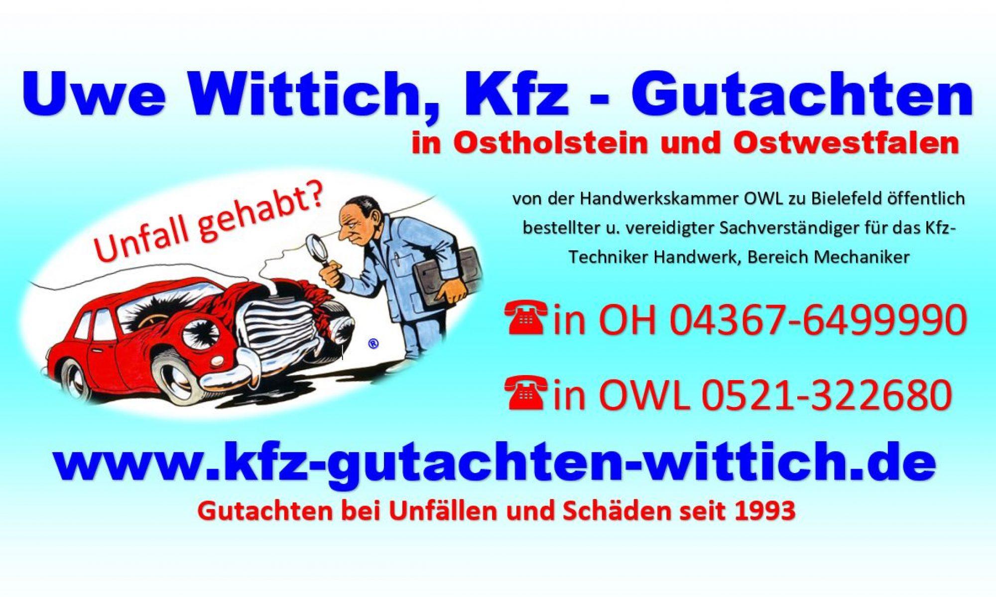 Kfz Gutachten Wittich